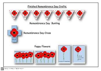 Remembrance Day Craft and Activities Years 1, 2 & 3