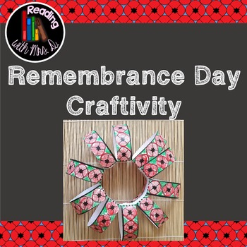 Remembrance Day Craftivity