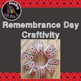 Remembrance Day 3D Wreath Craftivity
