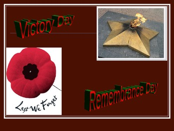 Remembrance Day Cross-Culturally