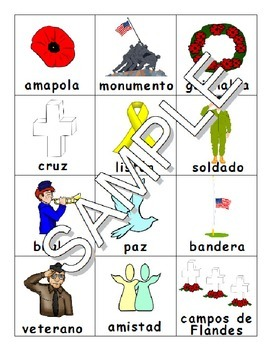 Remembrance Day / Veteran's Day / Día de los Veteranos  SPANISH