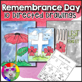 Remembrance Day Directed Drawing