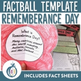 Remembrance Day Factballs and Fact Sheets