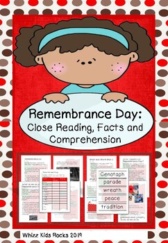 Remembrance Day: Facts and Comprehension