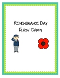 Remembrance Day Flash Cards
