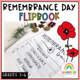 Remembrance Day Flipbook - Grades 3 - 6