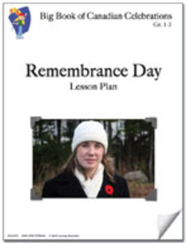 Remembrance Day Grades 1-3 Lesson Plan