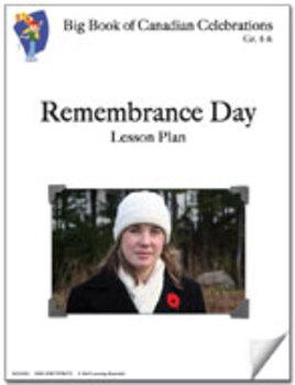 Remembrance Day Grades 4-6 Lesson Plan