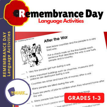 Remembrance Day Language Activities
