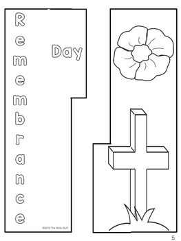 Remembrance Day Canada Lap Book