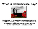 Remembrance Day : Art & Discussion