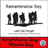 Remembrance Day  Lest We Forget 2