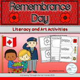 Remembrance Day- Literacy and Art Activities
