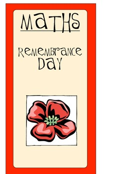 Remembrance Day Math / Memorial Day Math