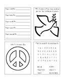 Remembrance Day Mini Peace Book (USA version)