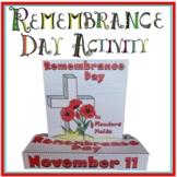 Remembrance Day POP-UP Craftivity