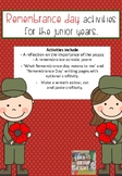 Remembrance Day Pack - suitable for the Junior Years.