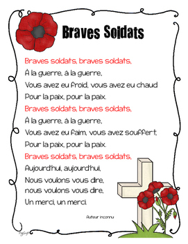 FREE Remembrance Day Poem • French