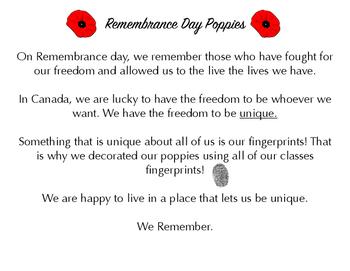 Remembrance Day Poppy Art