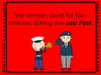 Remembrance Day PowerPoint in English and Differentiated Activity
