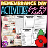 Remembrance Day Activities for Teens