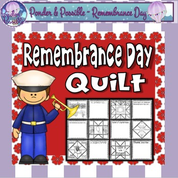 Remembrance Day Quilt