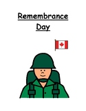 Remembrance Day Social Story (Canada)