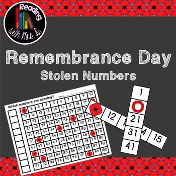 Remembrance Day Stolen Missing Numbers