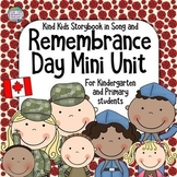 Remembrance Day Resource for Kindergarten, Primary (Canada)