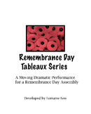 Remembrance Day - Veterans Day Tableaux for Assembly Script