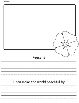 Remembrance Day - What is Peace?