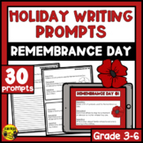 Remembrance Day Writing Prompts | Paper or Digital