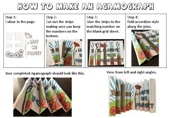 Remembrance Day activity pack - includes poppy making, agamograph & worksheet