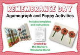 Remembrance Day activity pack - includes poppy making, aga