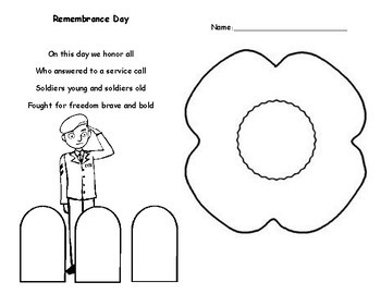 Remembrance Day art project