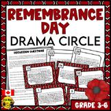 Remembrance Day Canada   Drama Circle Activity