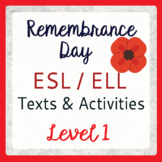Remembrance Day (ESL 1)