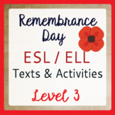 Remembrance Day (ESL 3)