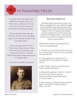 Remembrance Day (ESL 4)