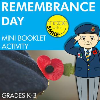 Remembrance Day in Canada Mini Book