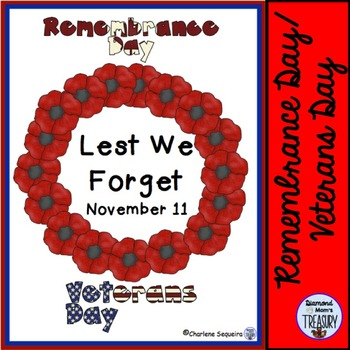 Remembrance Day/Veterans Day Activities