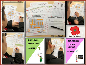 Remembrance: Remembrance Day Activity Pack