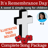 Remembrance Day Song & Activity   mp3s, PDF, SMART, Video