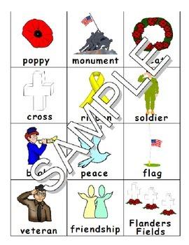 Remembrance / Veteran's / Memorial Day - ESL