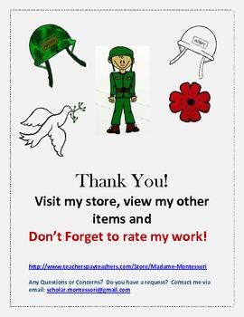 Remembrance/Veteran's Day Clip Art