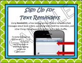 Remind 101 Meet the Teacher Flyer