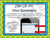 Remind 101 Meet the Teacher Flyer