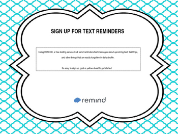 Remind Sign Up