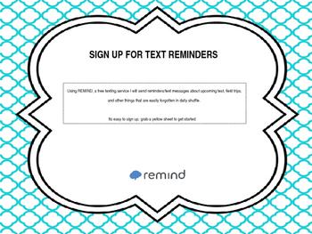 Remind Sign Up