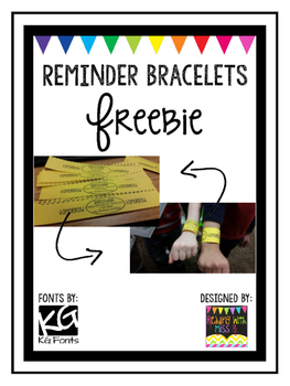 Reminder Bracelet FREEBIE